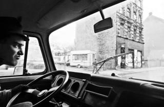 Chris driving 1993